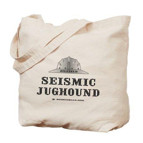 Take from juggette Seismic Jughound Tote Bag on CafePress.com