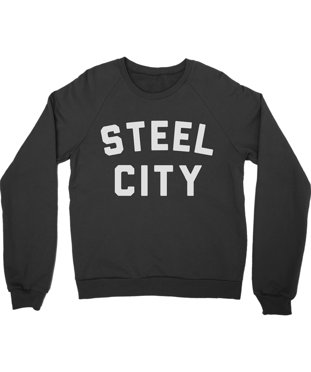 Steel City Logo Crewneck Steel City City Logo Steel City Crew Neck
