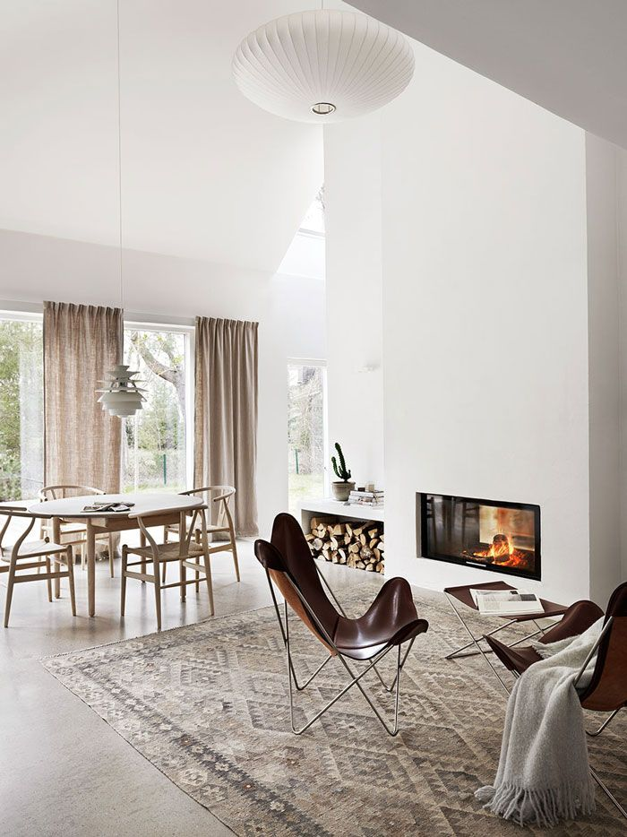 Beautiful and Harmonious Scandinavian Home in Natural