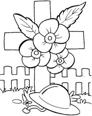 Anzac Day Coloring Pages For Kids Remembrance Day Poppy Veterans Day Coloring Page Poppy Coloring Page