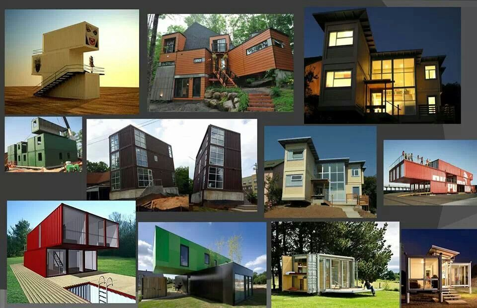 Container Homes Style Dream House Pinterest Container House