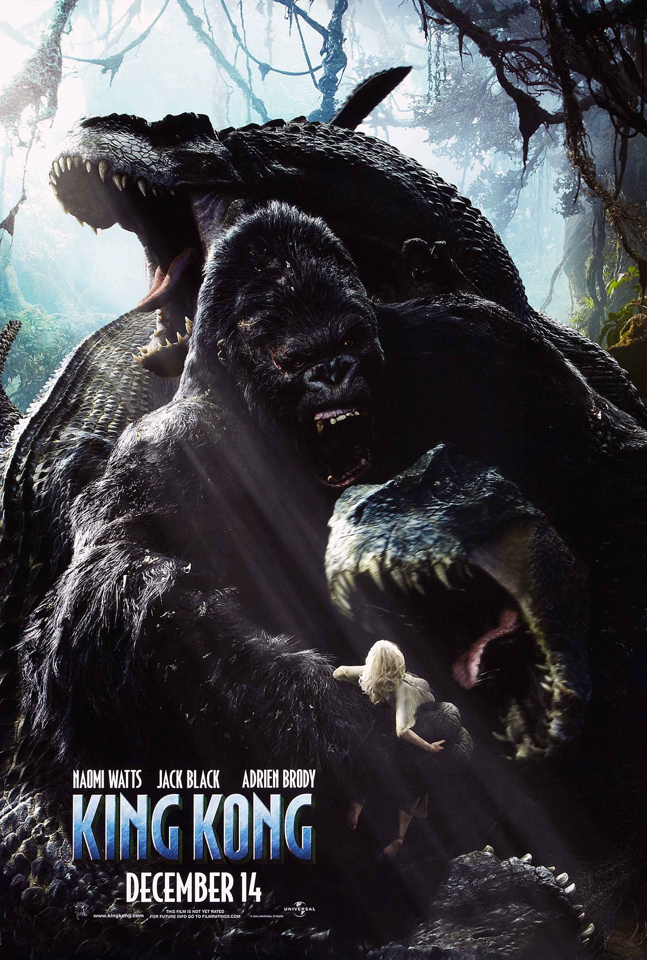 King Kong 2005 Creature Feature Movie Posters In 2019