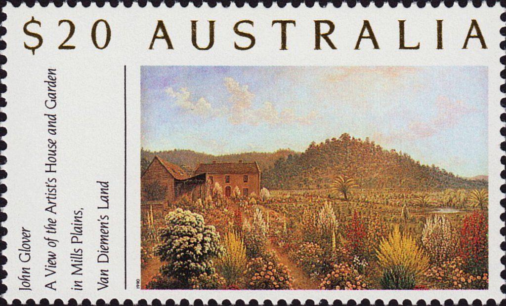 Mills plains stamp postage stamps australia