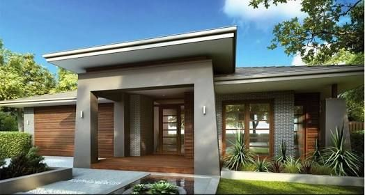 Image Result For House Portico Single Storey Facade House Single Floor House Design House Exterior
