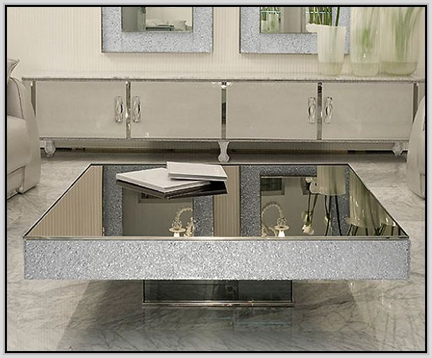 mirrored coffee table canada | table designs plans | pinterest