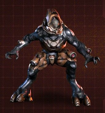 elite ranger from halo 4