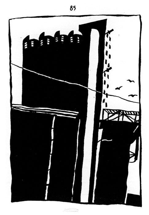 Philippe Doro : Marseille. 1930's silo.