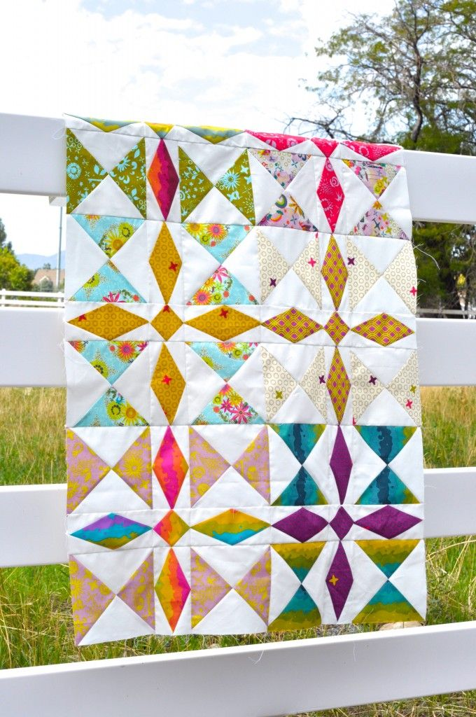 Treasure Hunt Quilt in Clover Sunshine- don't like the colors but ... : clover quilting - Adamdwight.com
