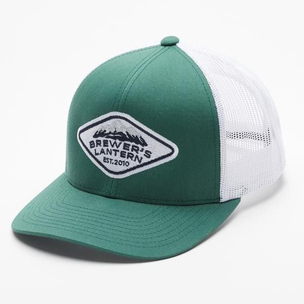 Classic Brewer s Lantern Mountain Patch Trucker Hat perfect for Guys and  Girls! 42da3e3d7f62