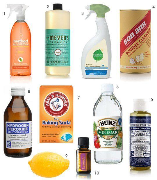Diy Or Buy Natural Eco Friendly Cleaners Limpieza Natural