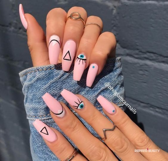 52 Pretty Pink Nails Ideas - Inspired Beauty