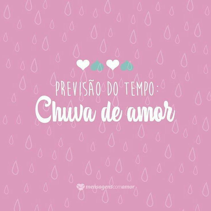 Chuva De Amor Bomdia Chuva Chuvadeamor