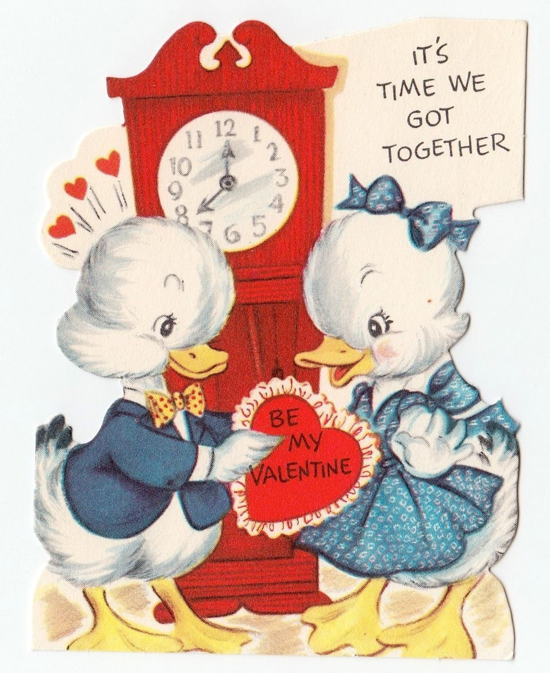 Vintage greeting card valentines day cute animal j591 ebay vintage greeting card valentines day cute animal j591 ebay kristyandbryce Image collections