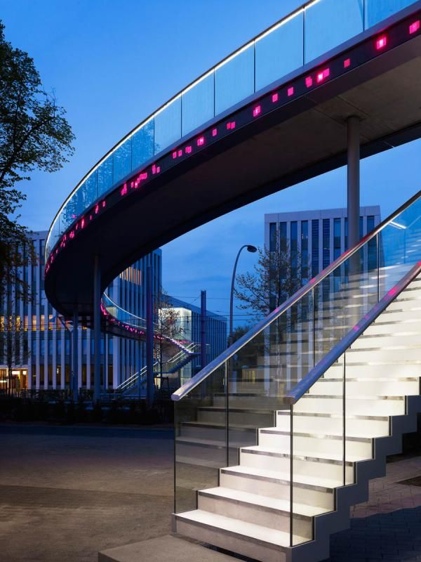 Project: Telekom Bridge - schlaich bergermann partner