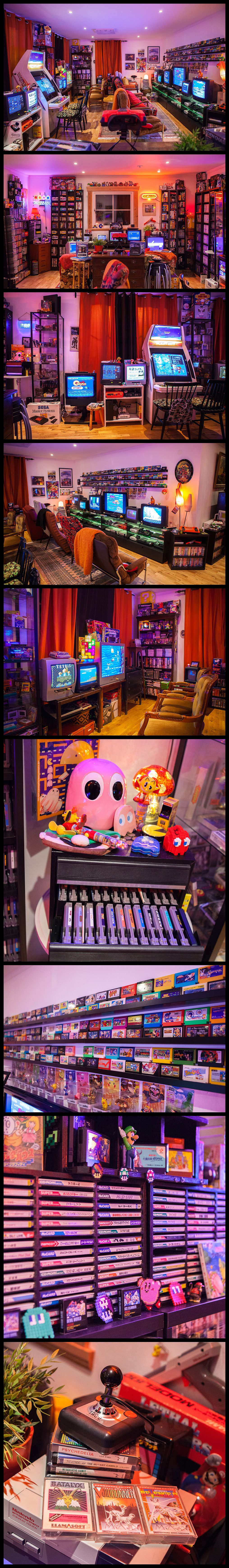 Amazing Retro Game Room Setup Via Heidi Stopxwhispering Tons Of Simple Circuit Board For Kids Galleryhipcom The Hippest Galleries Gaming Ideas This Is All About