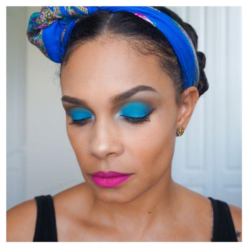 Blue Pink Makeup Look Makeupinspo Blueandpink With Images Pink Makeup