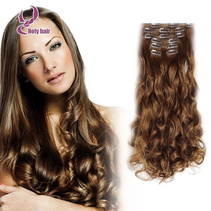 Blonde Hair Extension 8 24 Inch Cheap Clip Ins Httpaliexpress