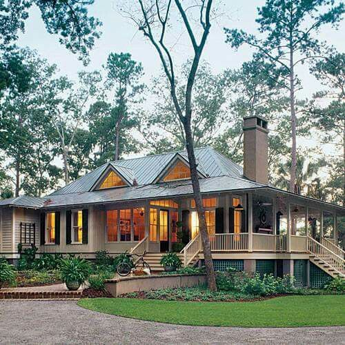 A woodsy classic home, so inviting!