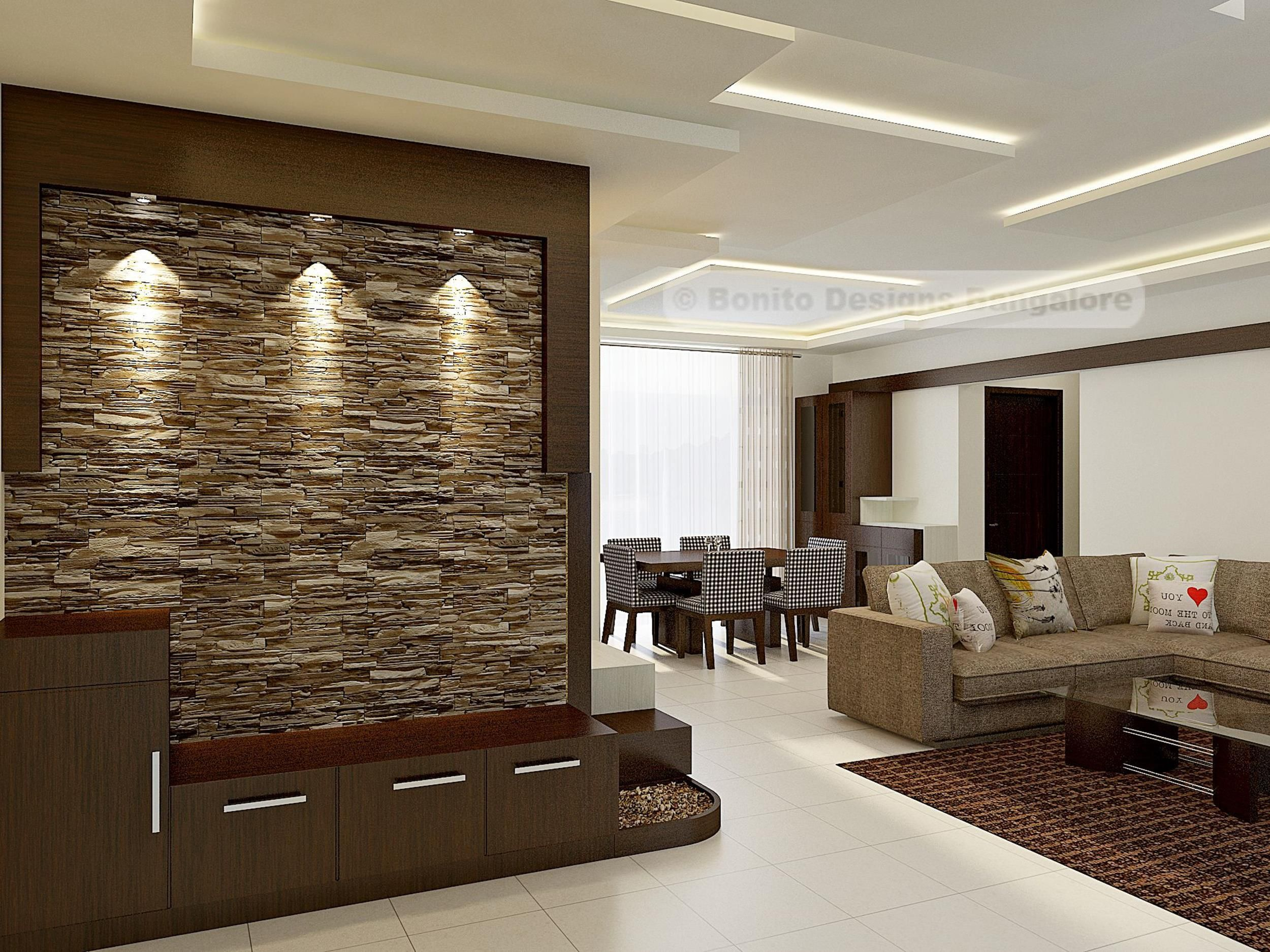 9 Perfect Living Room Smooth Stone Interior Walls Ideas - Decor