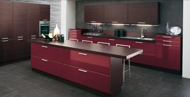China Vinyl Kitchen Cabinet Design (MV-010) - China vinyl kitchen ...
