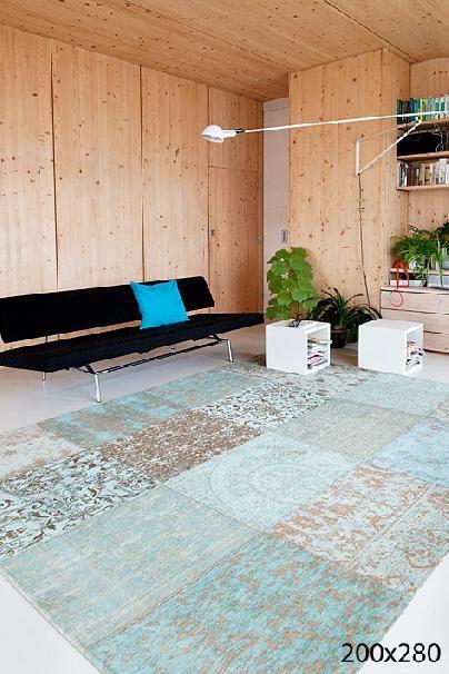 Vintage Kelim tapijt Sea Blue 8006  Huis  interieur
