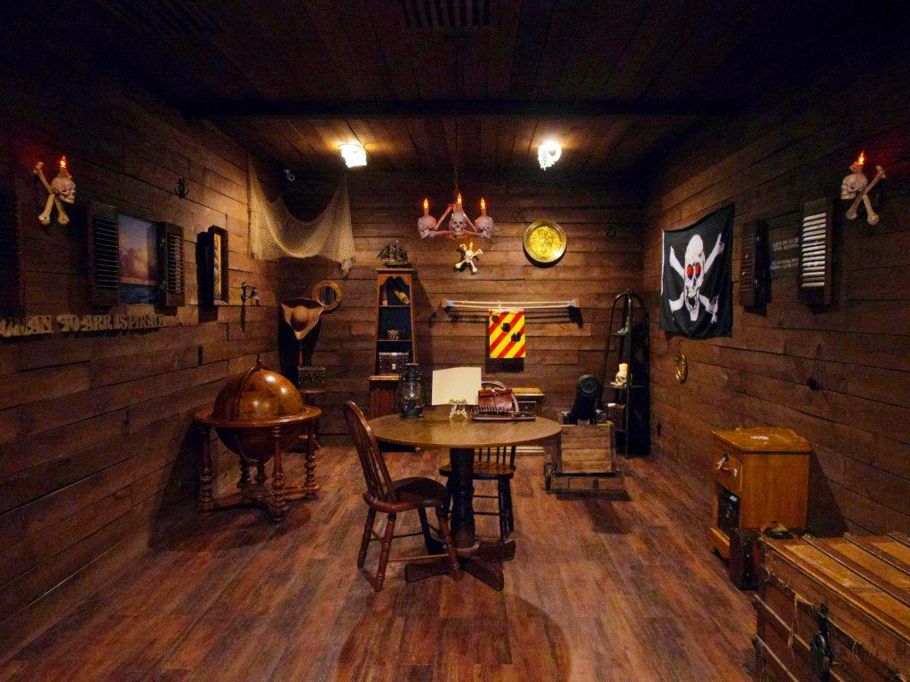 The Pirate Chamber Main View Escape Room Challenge Escape Room Secret Chambers