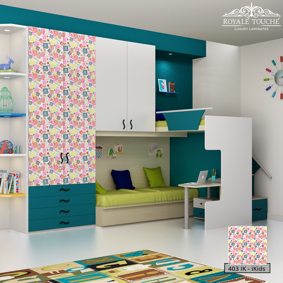 Kids Bedroom Laminates revamp your kids room with beautiful laminates from royale touche