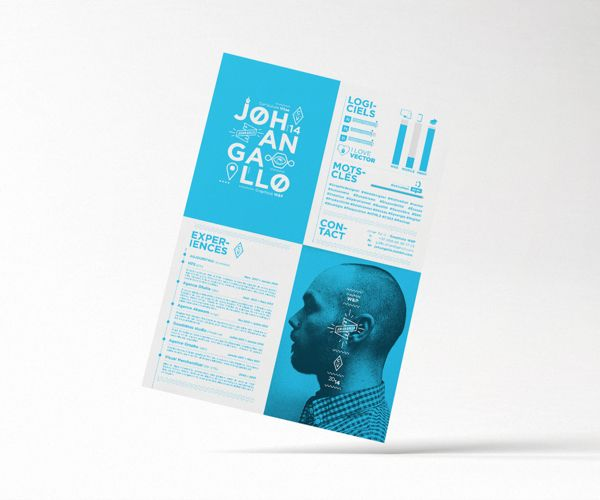 Love this four quadrant look with bold color phoros by by johan love this four quadrant look with bold color phoros by by johan gallo via behance for more great resume ideas search aaron sheppard and look at my altavistaventures Images