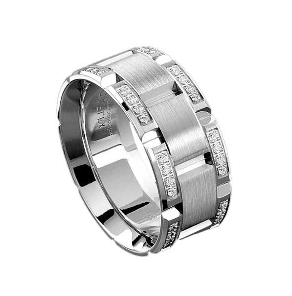 Cartier Mens Wedding Band wedding idears Pinterest Weddings