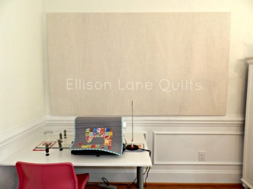 Building a Design Wall: A Tutorial - Ellison Lane | QUILTING ...