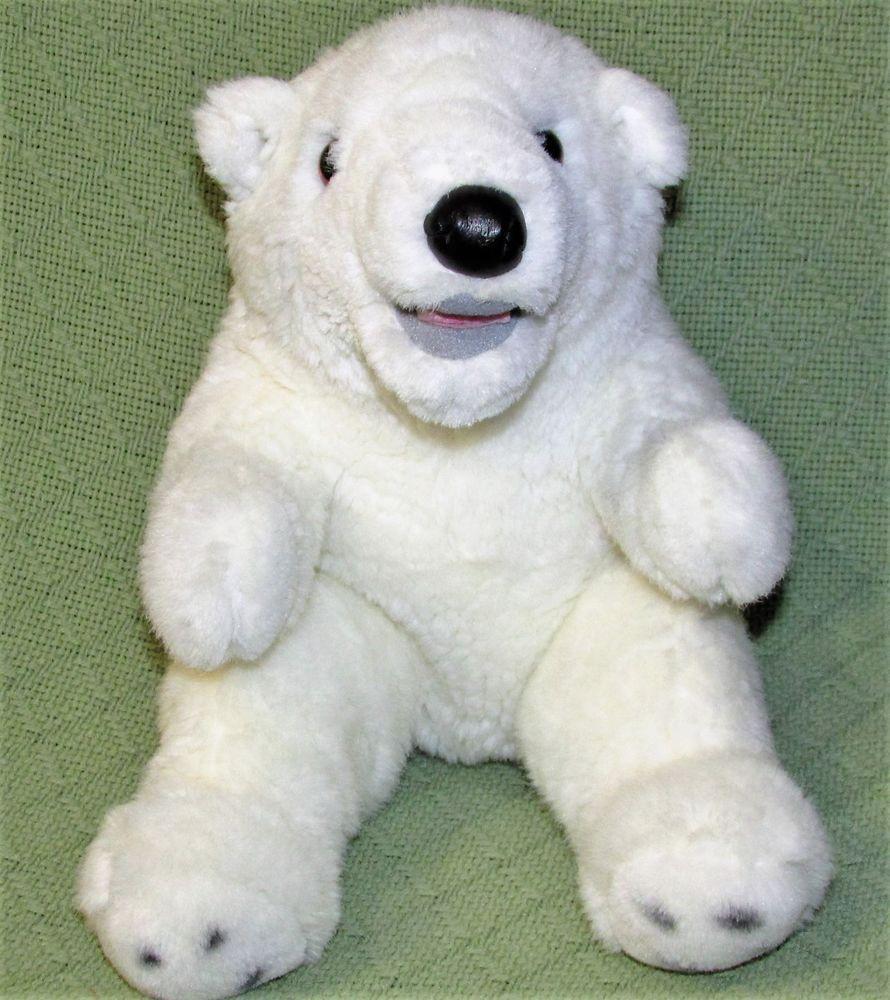 Vintage DOUGLAS TOYS Polar Bear Cuddle Toys Plush Stuff