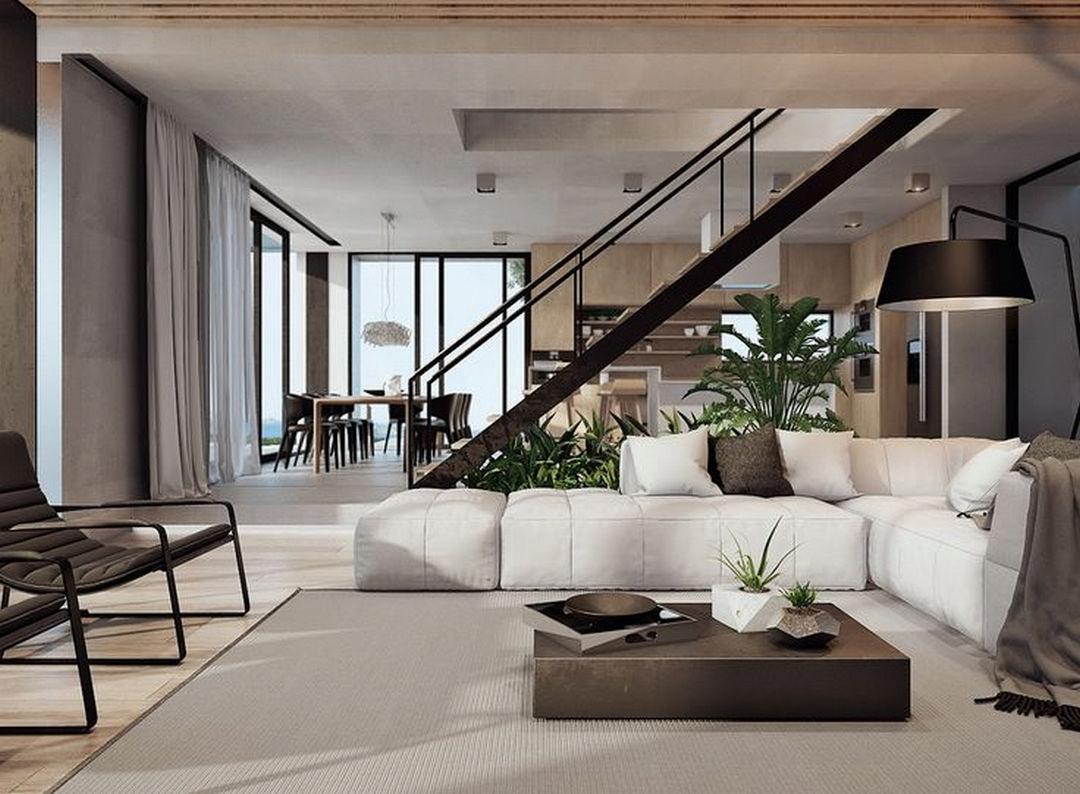 V20 Apartment Modern Architecture And Scandinavian Interior