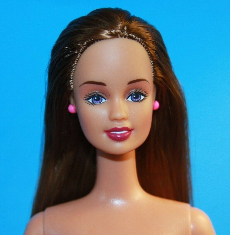 NUDE Barbie Doll MILLIE Articulated Jointed Knees Bent