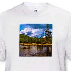 The Snake River that runs through Yellowstone National Park T-Shirt