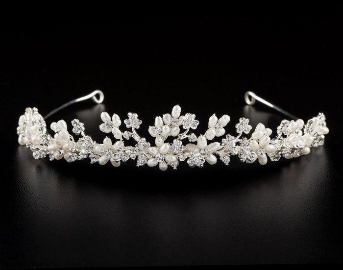 Brautschmuck diadem  21060-Braut-Diadem-Hochzeit.jpg (700×551) | Jewlery and Assorted ...