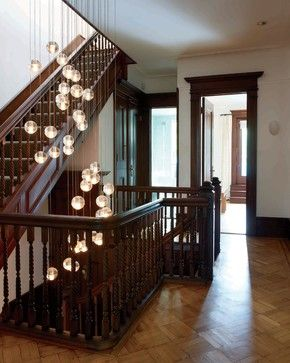 Park Slope Townhouse - contemporary - Hall - New York - Delson or Sherman Architects pc