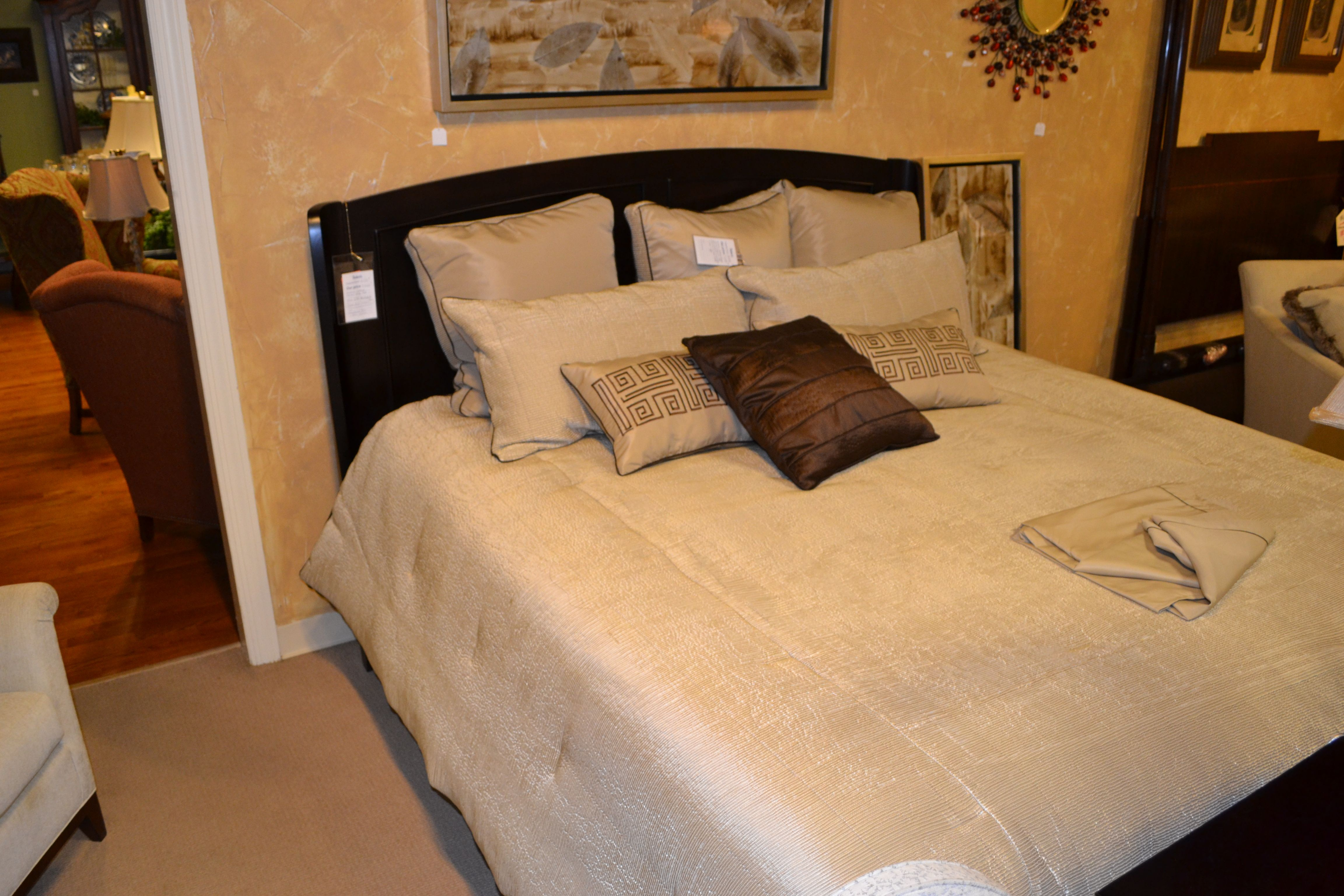 Cresent King And Queen Bed At Shubert Design And Furniture