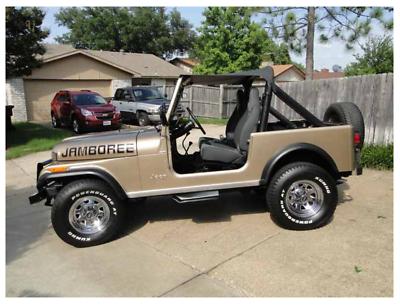 Ebay 1982 Jeep Cj Jamboree Limited Edition 1982 Jeep Cj7 Jamboree