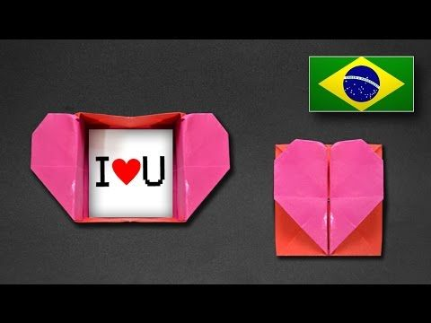 Need a paper box in the next 30 seconds in this video you will diy origami heart box envelope with secret message pop up heart mightylinksfo Choice Image