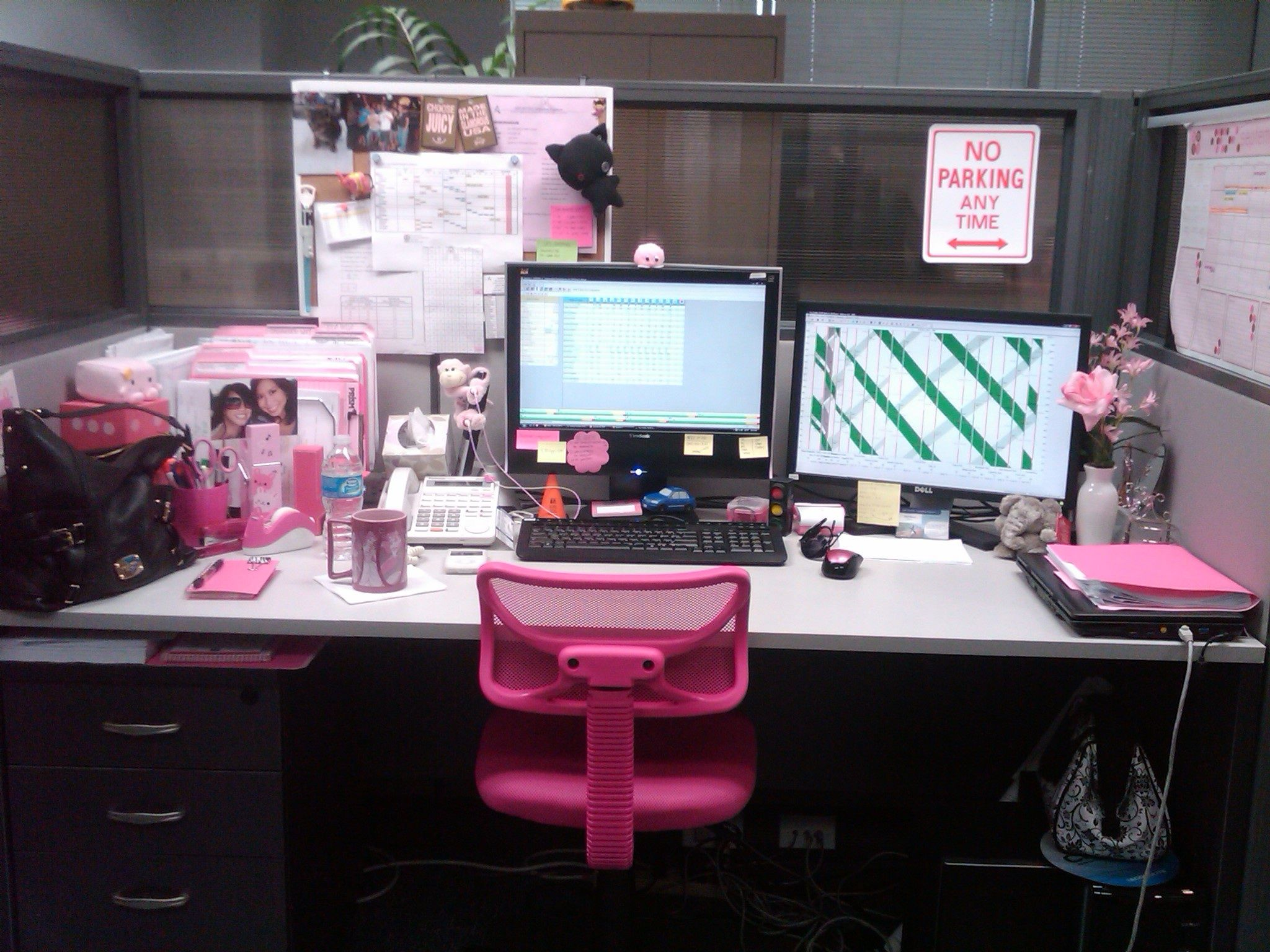 Cutest Cubicle And The Winner Is Womenworking Com Cubicle