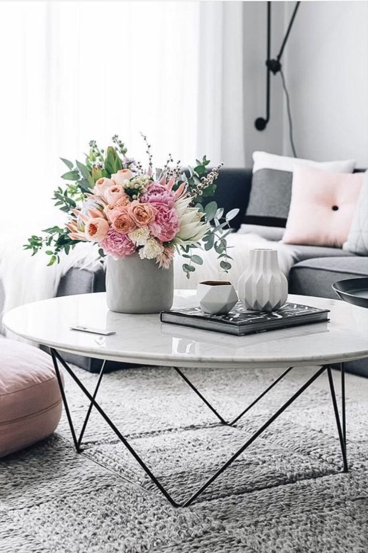 Simple Coffee Table Styling 2020 2021 Coffee Table Table Decor Living Room Marble Coffee Table [ 1125 x 750 Pixel ]