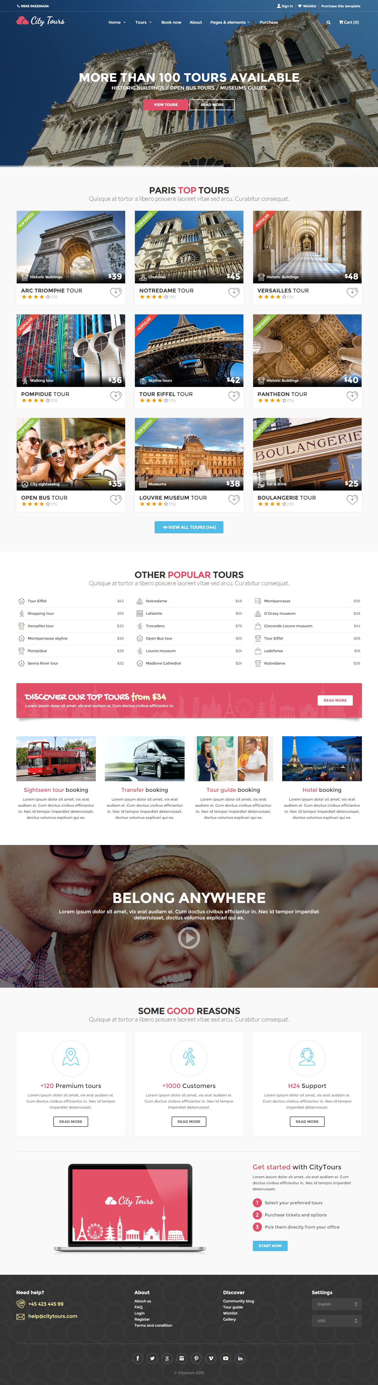 Citytours is premium responsive retina html5 city guide template citytours is premium responsive retina html5 city guide template bootstrap video background parallax scrolling google map pronofoot35fo Gallery