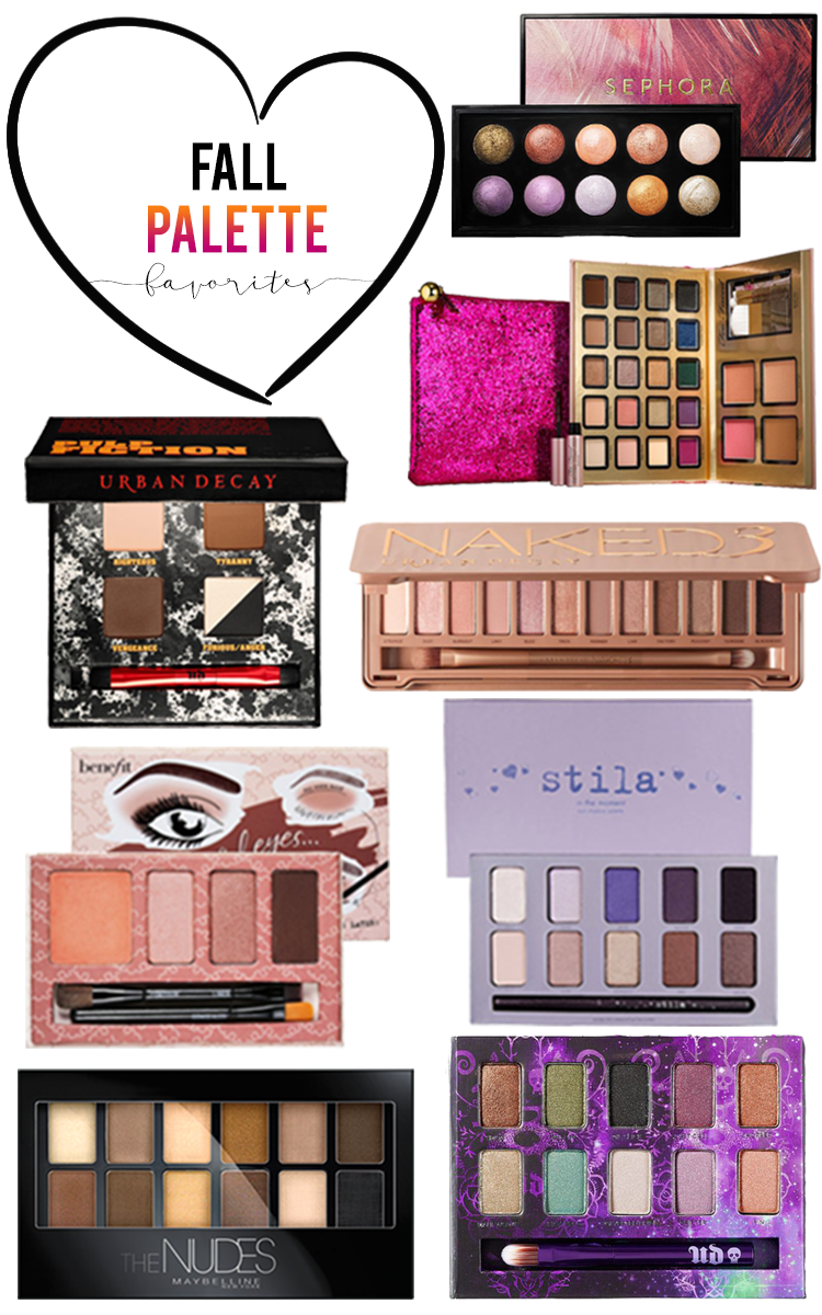 Makeup Palettes: The Best Eyeshadow Palette For Fall