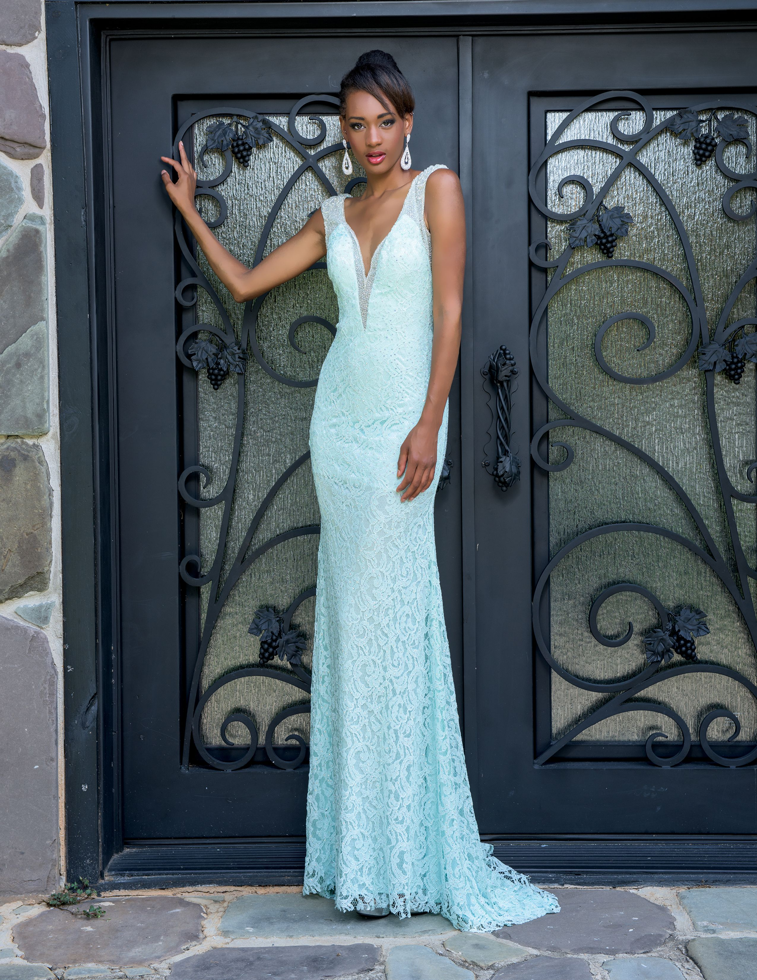 sexy lace prom dress available at Hope\'s Bridal | Prom Dresses 2016 ...