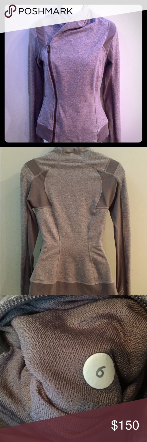 Lululemon Bhatiki Yoga Jacket - 6 - Heathered Gray Lululemon Bhakti Yoga Jacket Size: 6 Color: Heathered Slate Gray Features: Thumbholes and pockets on front.  Highly sought after and ULTRA SEXY on the body!  This jacket is absolutely amazing so, so gorgeous on the body! Condition: Pristine condition!  Only worn ONCE with no signs of wear whatsoever! lululemon athletica Jackets & Coats