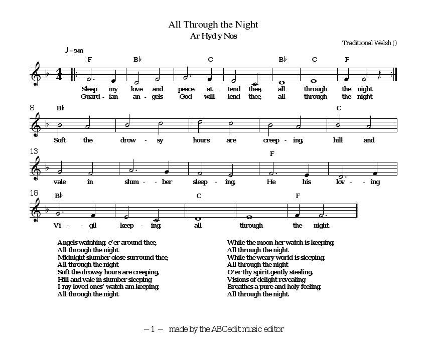 All Through the Night a Welsh Lullaby   Poetry   Pinterest   Welsh ...