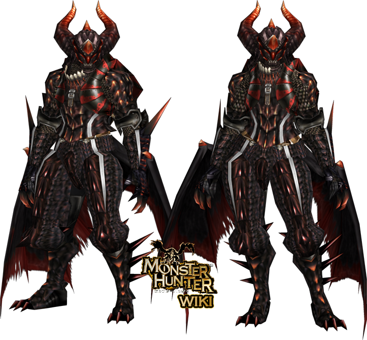 Fatalis Z Armor Gunner Monster Hunter 4 And 3 Ulitmate Monster