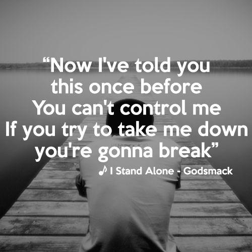 musica godsmack - i stand alone