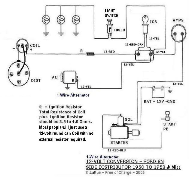 8n Ford Tractor Wiring Diagram Images