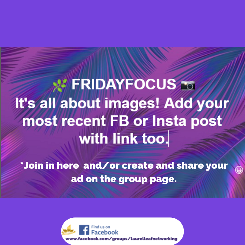 Friday Focus Come On Over To Our Facebook Group And Share Your Posts Socialmediamarketing Fridaybusiness Business Networking Referrals Networking
